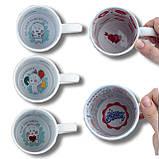 Печать на белой чашке 330мл (внутри с рисунком), фото 2