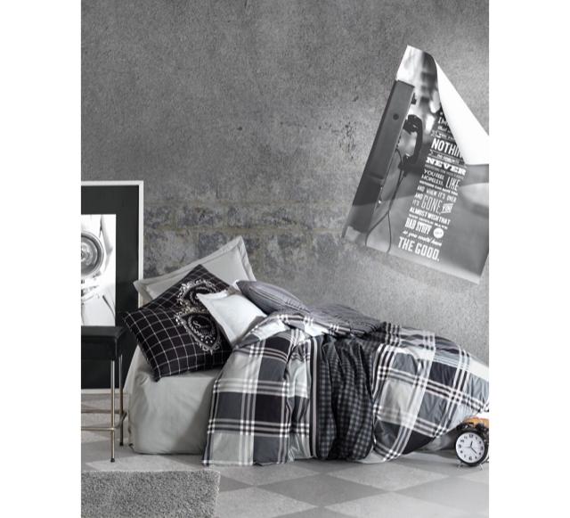 Постельный комплект евро Cotton Box ранфорс Hermanus Home 200*220