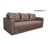 Диван раскладной спальный КОМФОРТ 2 Спальный диван для повседневного сна Софа Серый, фото 4