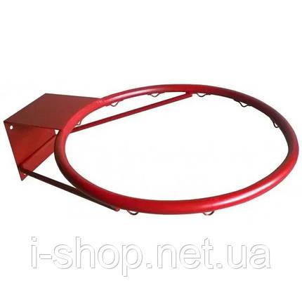 Щит баскетбольный из оргстекла (90*120 см) с кольцом, фото 2