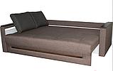 Прямой раскладной диван от производителя еврокнижка КОМФОРТ  Бежевый Диван-софа в гостиную, фото 3