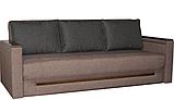 Прямой раскладной диван от производителя еврокнижка КОМФОРТ  Бежевый Диван-софа в гостиную, фото 2