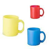 Печать на чашке (стекло неоновый) 330мл, фото 2