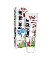 Детская зубная паста Bio Repair Kids от 0 до 6 лет