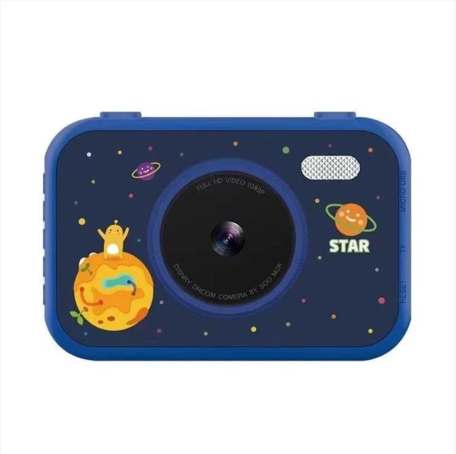"""20Мп Дитячі фотокамери з 3,5"""" HD екраном Спейс з двома камерами (синій)"""