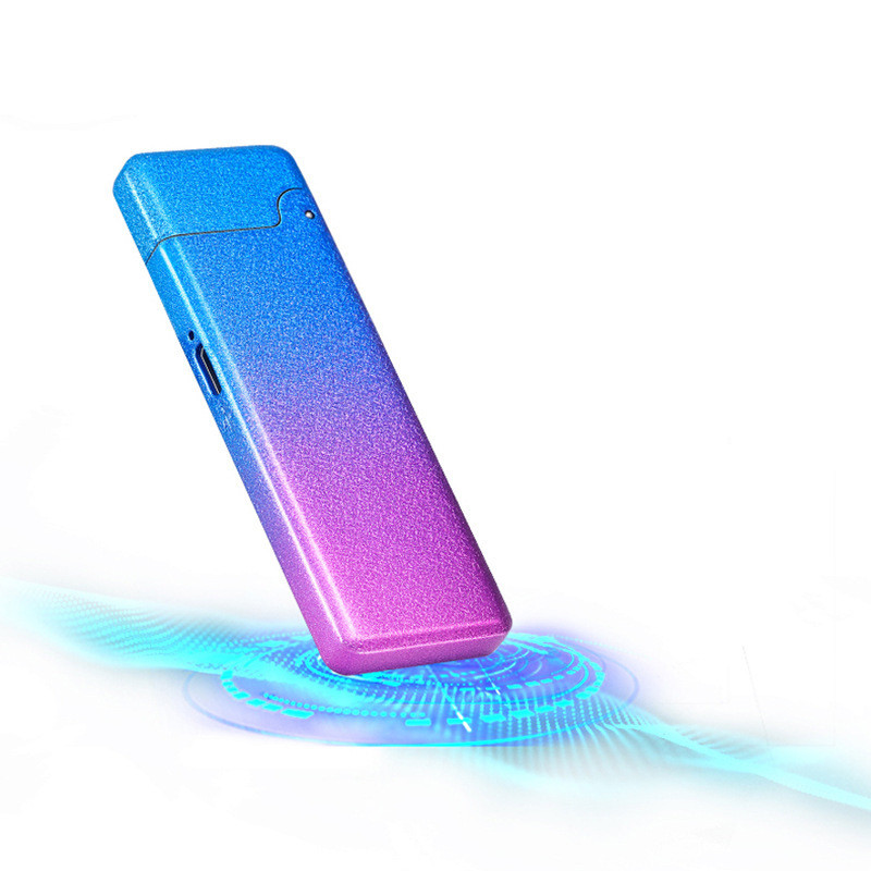 USB зажигалка тонкая Grace gradient 092_7