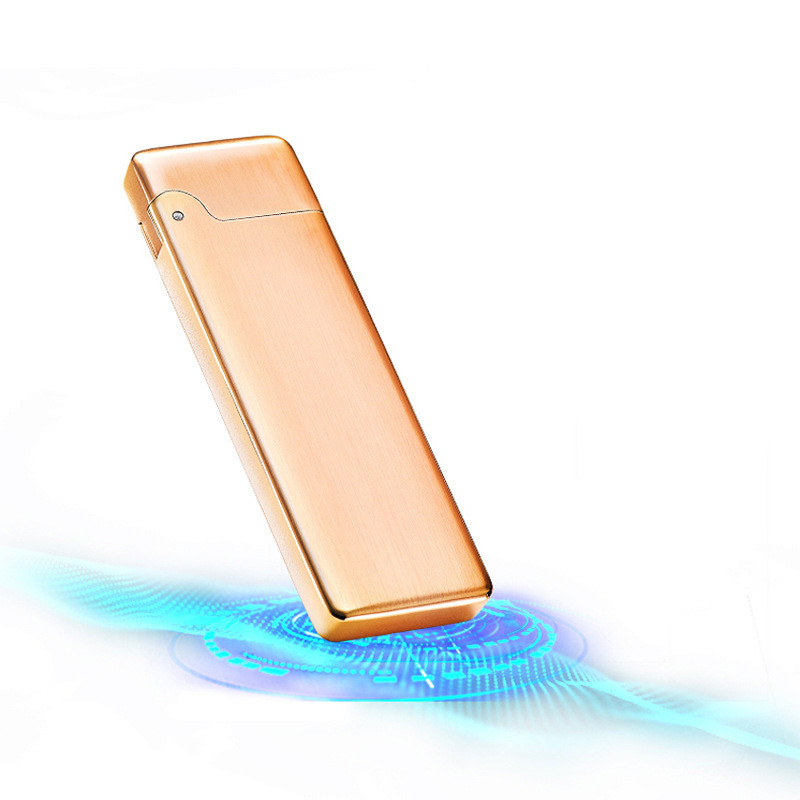 USB зажигалка тонкая Grace gold 092_4