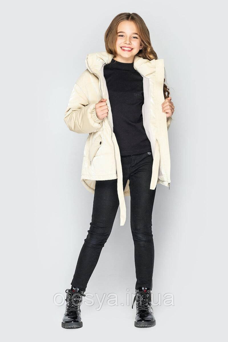 Демисезонная куртка Айрис для девочек тм Cvetkov, Размеры 128-140