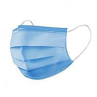 Захисна медична тришарова маска з мельтблауном M-277976