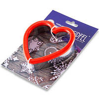 Форма для нарезания теста для печенья в форме сердца, 11х10х3см. Gipfel 0364