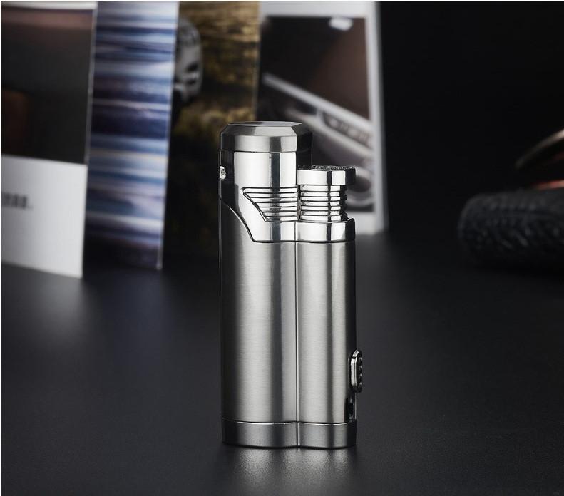 Электроимпульсная USB зажигалка Cigar point black 088_1