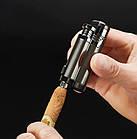 Электроимпульсная USB зажигалка Cigar point black 088_1, фото 4
