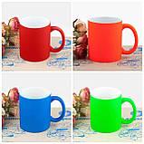 Печать на прорезиненной чашке Soft - Toutch 330мл, фото 2