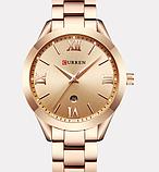 Роскошные позолоченные женские часы код 418, фото 3
