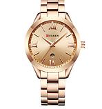 Роскошные позолоченные женские часы код 418, фото 5