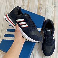 Adidas ZX 500 синие адидас кроссовки мужские кросовки кеды