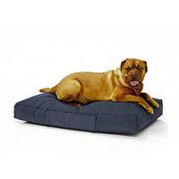 Бескаркасный лежак для собак Beans Bag из ткани Оксфорд стронг 115х75 см с чехлом Синий (hub_4r15nw)