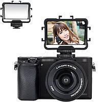 Зеркало - монитор, экран JJC FSM-V1 для селфи съемки, ведения блогов для фотоаппаратов и камер