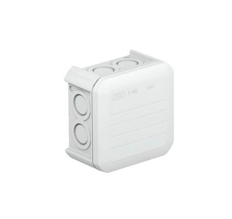 Коробка распределительная наружная Т40 90х90х52 IP55 OBO Bettermann цвет белый, фото 2