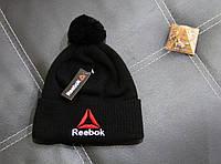 Шапка Reebok classic black
