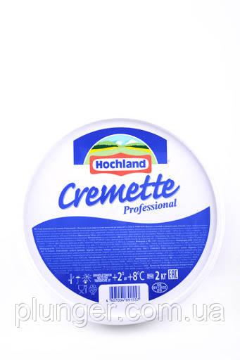 Сыр сливочный Hohland Cremette (ТОЛЬКО ДЛЯ ПОЛТАВЧАН), 2 кг