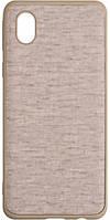 Чехол Gelius Canvas Case для Samsung A013 (A01 Core) Beige
