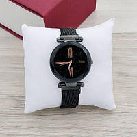 Оригинальные наручные часы Geneva QSF-002 Starry Sky All Black Shine, 100% ОРИГИНАЛ