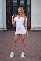 Жіноче Бандажну сукня біле Lameia