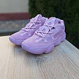 Кроссовки распродажа АКЦИЯ последние размеры Adidas Yeezy 500  650 грн люкс копия, фото 2