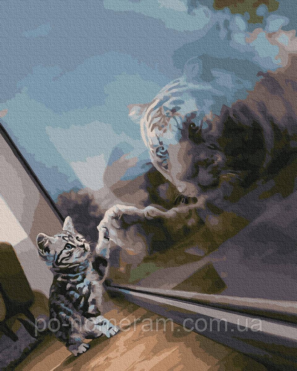 Картина по номерам  Дух тигра (BK-GX38367) 40 х 50 см (Без коробки)