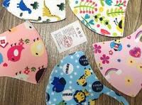 Многоразовая детская маска питта 3шт. Pitta Mask Kids (защитная Питта) дайвинг рисунок. Девочка / Мальчик