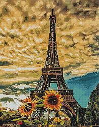 """Алмазная мозаика """"Краски Парижа"""" (Париж, Франция, Эйфелева Башня)"""