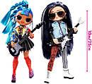 Ігровий набір з ляльками ЛОЛ ОМГ Ремікс Рок Дует L. O. L. Surprise! O. M. G. Remix Rocker Boi and Punk Grrrl, фото 2