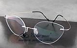 Очки женские для зрения +/-, безободковые. Код:3024, фото 3