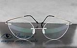 Очки женские для зрения +/-, безободковые. Код:3024, фото 4