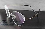 Очки женские для зрения +/-, безободковые. Код:3024, фото 5