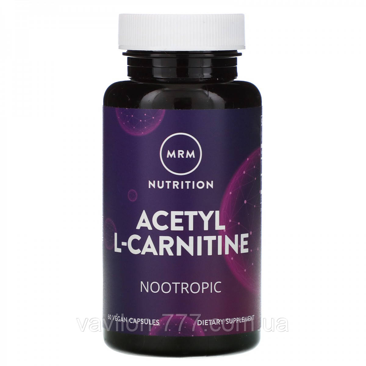 Ацетил-L-карнитин, 60  капсул. MRM, Nutrition