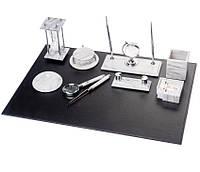 Настольный набор для руководителя Bestar Мраморный белый на 10 предметов