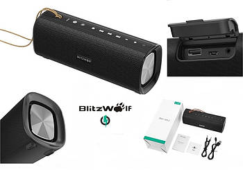 Blitzwolf BW-WA2 Портативная колонка 20W 4000mAh + NFC / TWS / AUX / Bluetooth / функция Power Bank