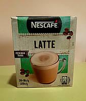 Кофейный напиток Nescafe Latte 3 в 1 20 стиков, фото 1