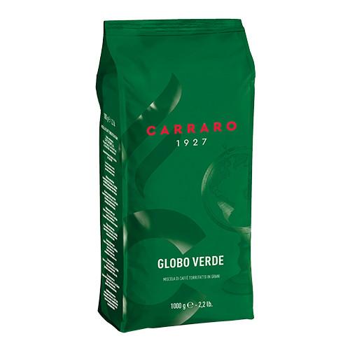 Кофе в зёрнах Carraro Globo Verde 1000g