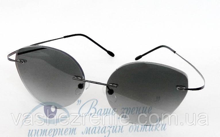 Очки женские для зрения +/-, безободковые. Код:3095