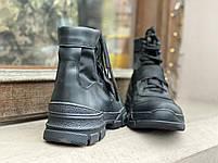 Ботинки тактические Strap  BLACK, фото 3