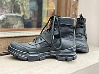 Ботинки тактические Strap  BLACK, фото 4