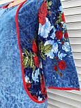 Халат велюровый Джинс 50 размер, фото 9