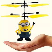 ІГРАШКА Літаючий міньйон, інтерактивна іграшка - вертоліт