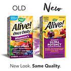 Nature's Way Alive! Once Daily Women's Ultra витамины для женщин в премиальной форме и супер дополнениями 60 т, фото 2