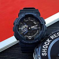 Мужские наручные часы Casio G-Shock Black-Silver New