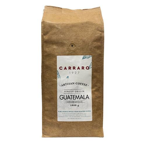 Кофе в зёрнах Carraro Guatemala 1000g