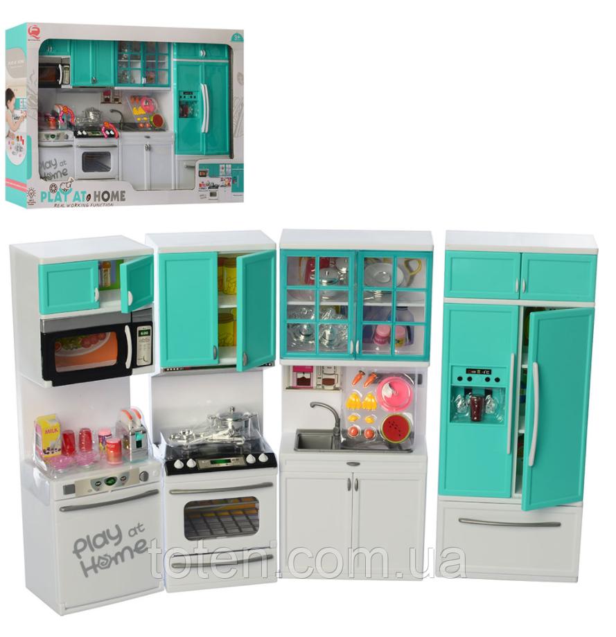 Меблі лялькова QF26211G Кухня, 49-в31-8 див. Звук і світло. Великий набір